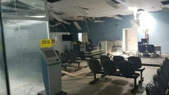 Agência em Pedrinhas Paulista fica fechada após explosão de cofre