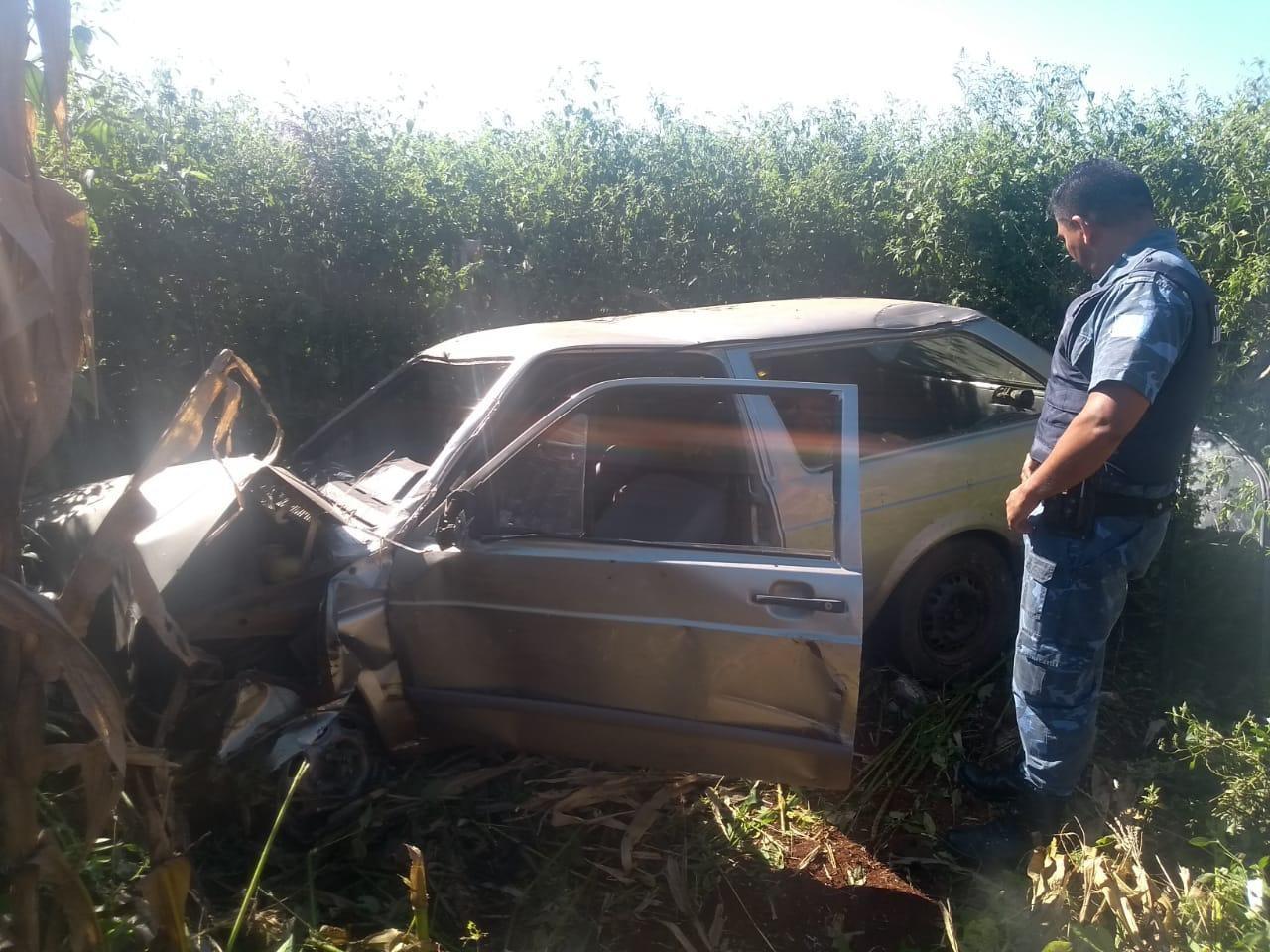 Motorista fica ferido após acidente em vicinal de Botucatu - Noticias