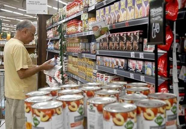 Inflação; cesta básica ; IPCA ; supermercado ; varejo ; consumo ;  (Foto: Tânia Rêgo/Agência Brasil)