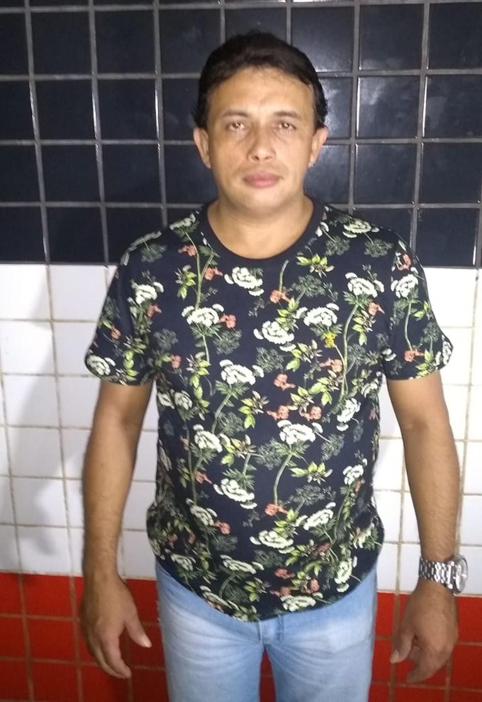 Paulynho Paixão foi preso em um hotel em Bacabal após denúncia de agressão por parte de sua esposa — Foto: Divulgação/Polícia Militar