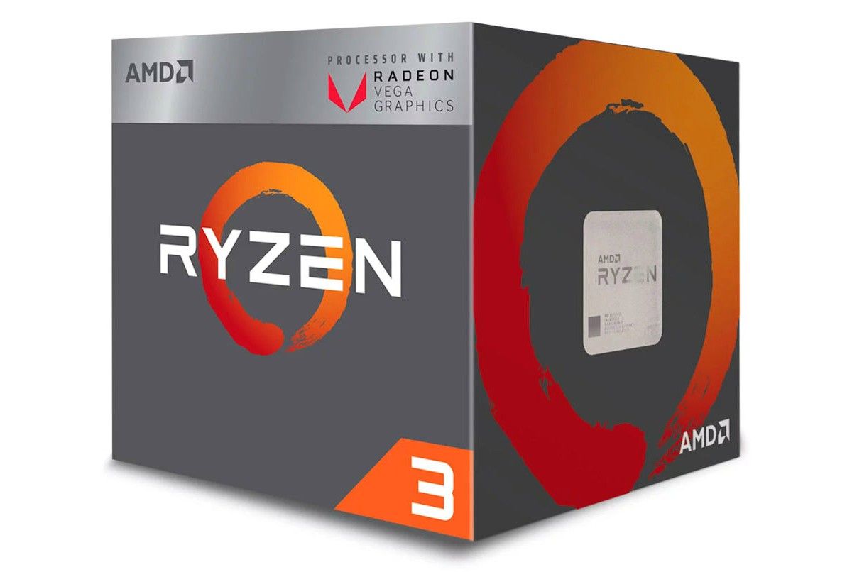 AMD Ryzen 3 2200G vs Intel Core i7 8700: compare especificações das