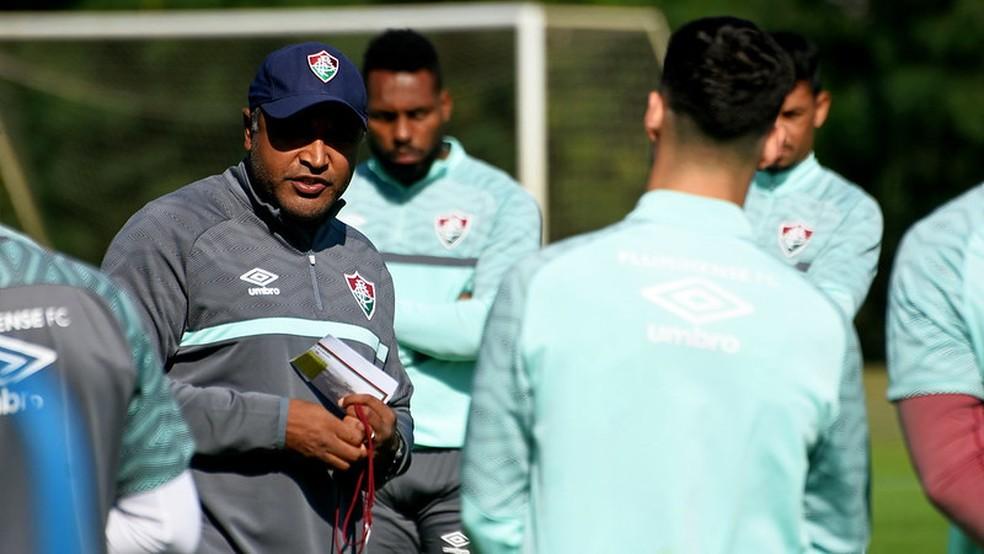 Roger Machado, Fluminense — Foto: Mailson Santana / Fluminense FC