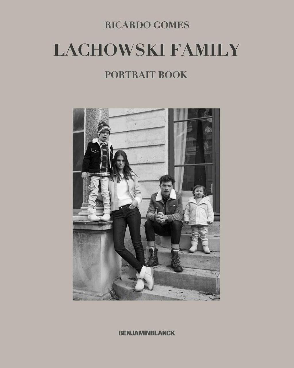 Capa do livro Lachowski Family, de Francisco Lachowski (Foto: Francisco Lachowski / Divulgação)