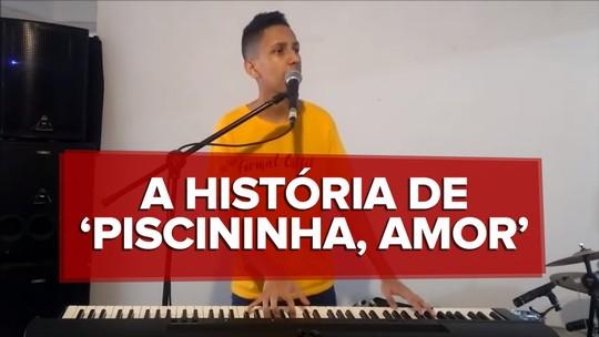 'Piscininha, amor': cantor que fez música com meme já negocia contrato, parcerias e shows no carnaval