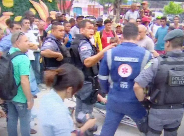 Baleados em tiroteio no Centro de Manaus recebem alta de hospital