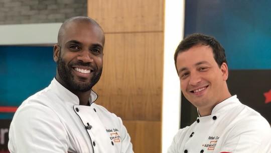 Rafael Cortez e Rafael Zulu estão na Panela de Pressão do 'Super Chef'