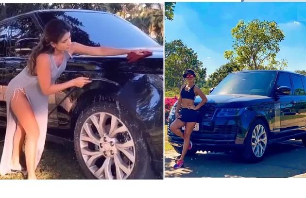 Paula Fernandes tem um Range Rover (Foto: Reprodução)