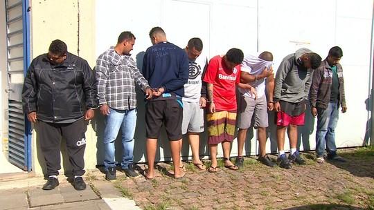 Polícia realiza operação contra quadrilha suspeita de roubos a canteiros de obras no RS
