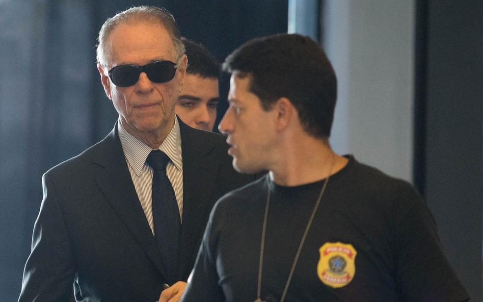 O presidente do Comitê Olímpico do Brasil (COB) e do Comitê Rio 2016, Carlos Arthur Nuzman, prestou depoimento na PF em setembro. (Foto: Wilton Junior/Estadão Conteúdo)
