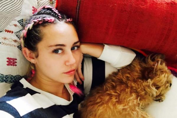 A cantora Miley Cyrus (Foto: Instagram)