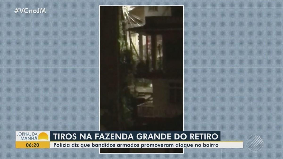 VÍDEO: Tiroteio assusta moradores da Fazenda Grande do Retiro, em Salvador