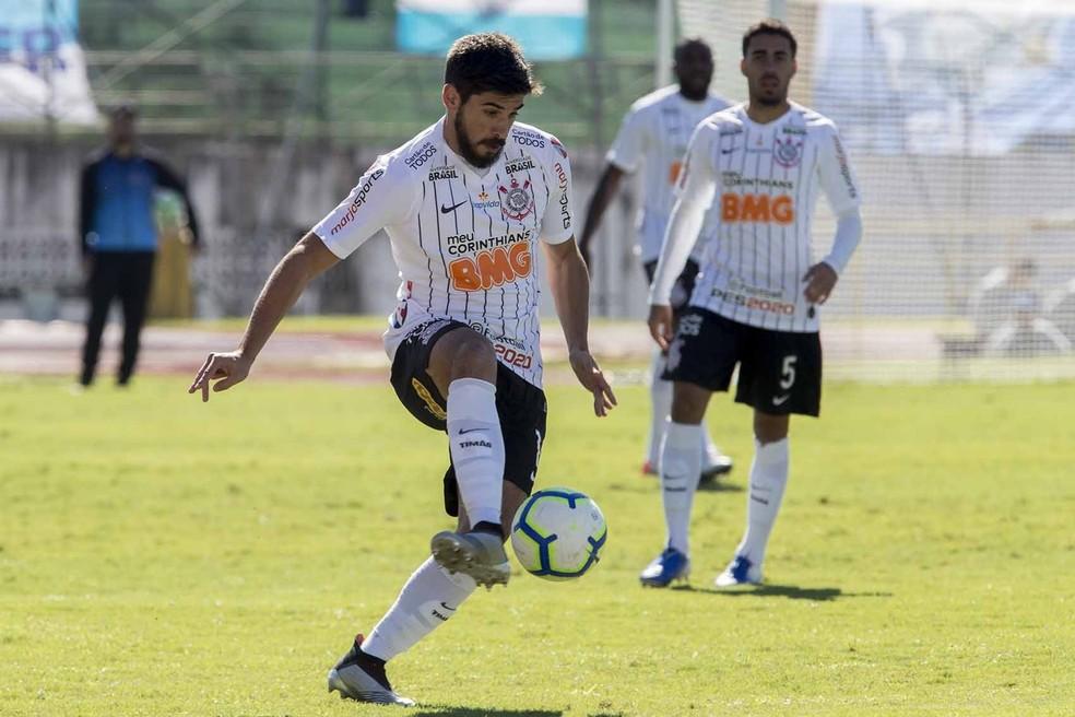 Bruno Méndez foi um dos destaques do Corinthians  — Foto: Daniel Augusto Jr/Ag. Corinthians