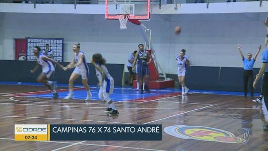 Campinas passa à frente no fim, vira série contra Santo André e vai à final do Paulista feminino