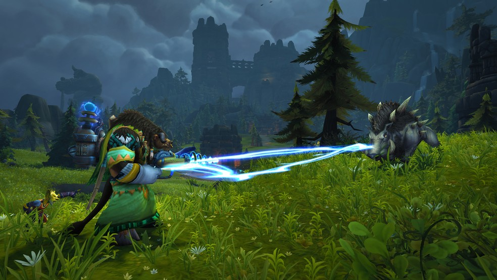 World of Warcraft Shadowlands will have adjustments to the character experience curve. (Image: Blizzard)