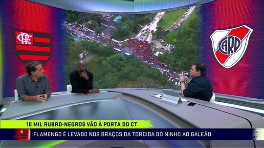 "Comentaristas exaltam torcida do Fla antes de final: ""Fenômeno a ser estudado"""