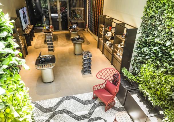 Nova loja da Nespresso, na Oscar Freire  (Foto: Divulgação)