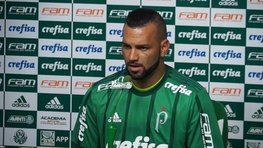 """Weverton elogia goleiros do Palmeiras, mas se vê na briga: """"Tudo pode acontecer"""""""