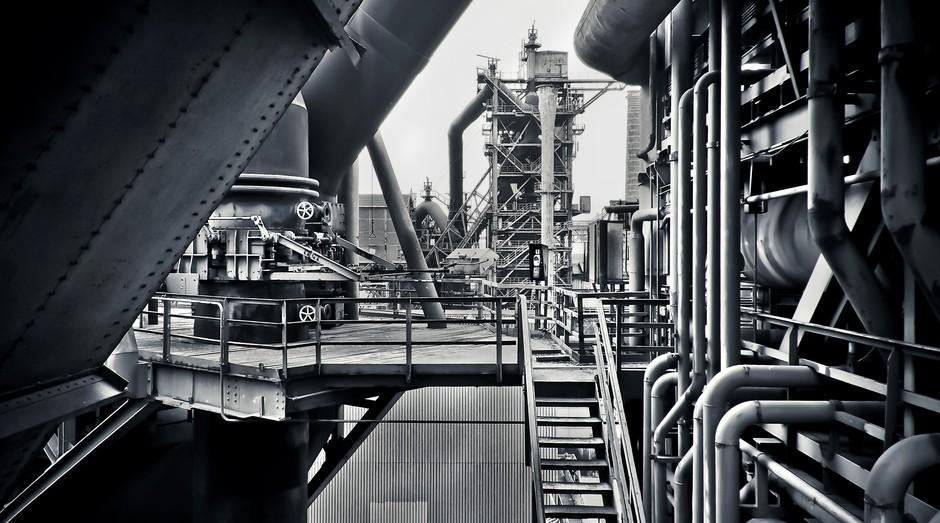 aço, industria (Foto: Reprodução/Pexels)