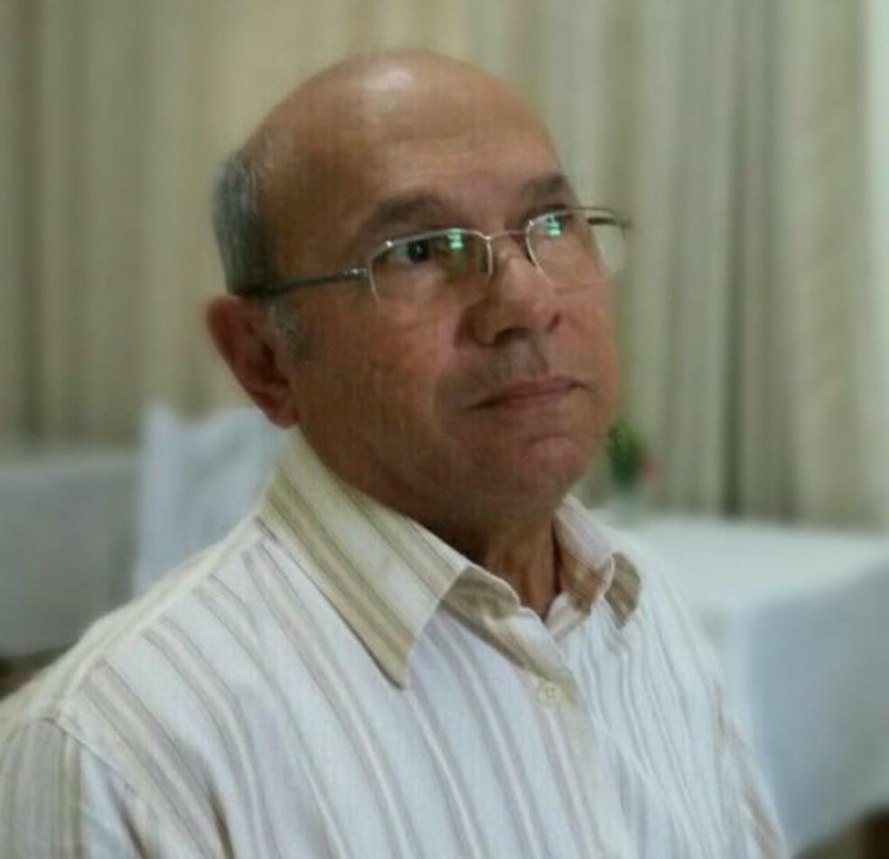 Acy Nunes de Siqueira, de 69 anos, morreu na madrugada deste sábado (27) internado com coronavírus (Covid-19), em Cuiabá — Foto: Arquivo pessoal