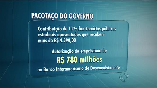 Deputados aprovam pacotaço do Governo Estadual
