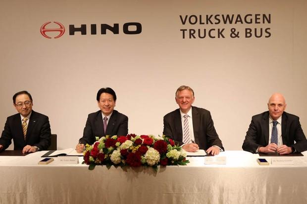 Volkswagen e Hino se juntam para criar novas tecnologias para caminhões (Foto: Divulgação)