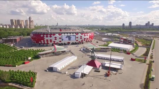 Estádios da Copa: casa do Spartak e o grande Luzhniki são os palcos em Moscou