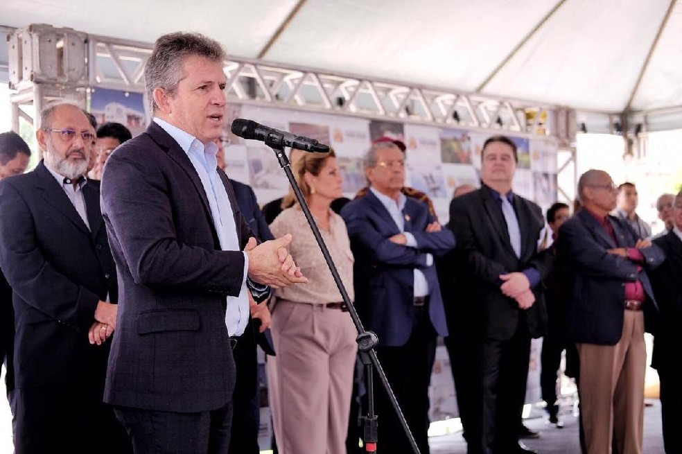 Mauro Mendes defende medidas para reduzir despesas — Foto: Mayke Toscano/Secom-MT