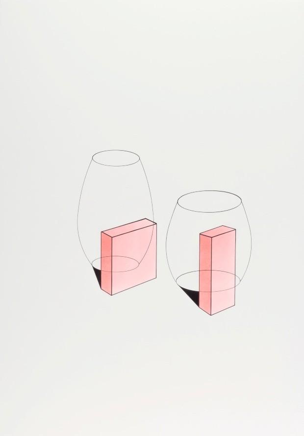 Waltercio Caldas seleciona obras que falam de tempo e espaço para a 33ª Bienal de São Paulo (Foto: Galeria Raquel Arnaud/divulgação)