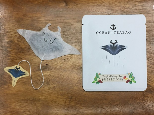 Empresa japonesa cria sachês de chá com formatos de animais marinhos (Foto: Reprodução)