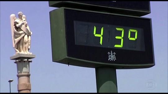 Calor castiga Europa; Nasa diz que 2018 já é um dos anos mais quentes da história