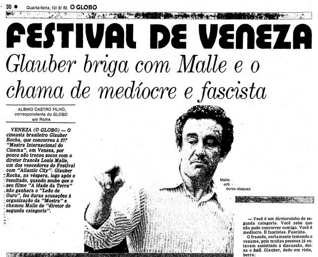 Página do GLOBO de 10 de setembro de 1980