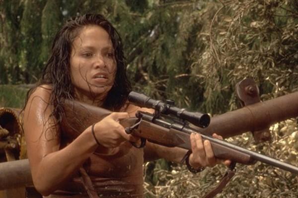 Jennifer Lopez em Anaconda (1997) (Foto: Divulgação)