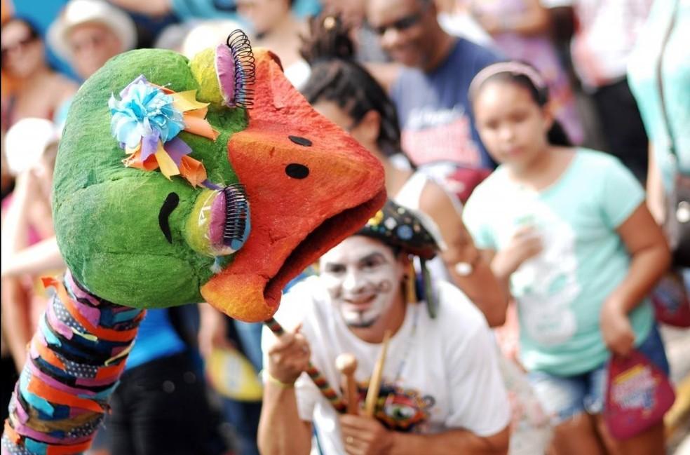 Bloco da Ema é uma das atrações do Carnaval de Piracicaba (Foto: Secretaria de Turismo de Piracicaba)