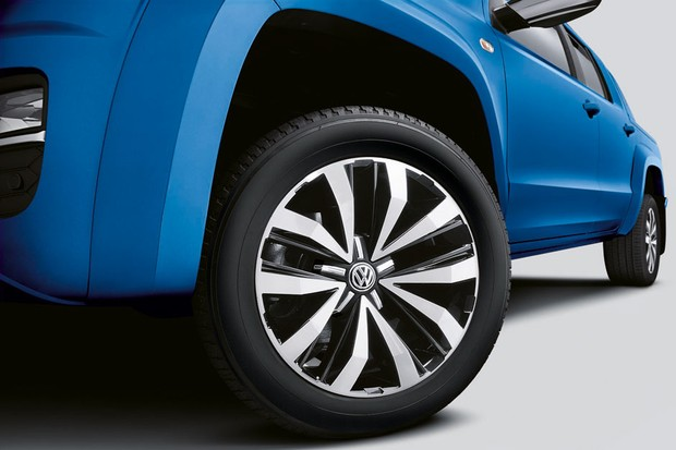 Volkswagen Amarok V6 Extreme rodas de 20 polegadas (Foto: Divulgação)