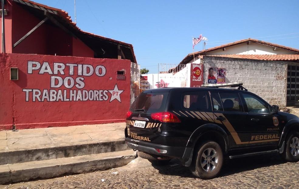Apreensão da Polícia Federal em Parnaíba — Foto: Divulgação/PF