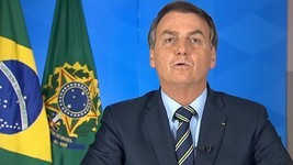 Redes sociais excluem vídeo de Bolsonaro (TV BRASILGOV/ YOUTUBE, via BBC News Brasil)