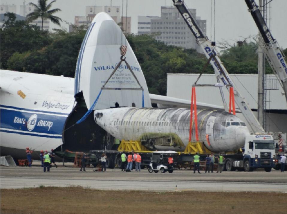Parte de avião sequestrado por terroristas em 1977 deixa o Ceará para Alemanha