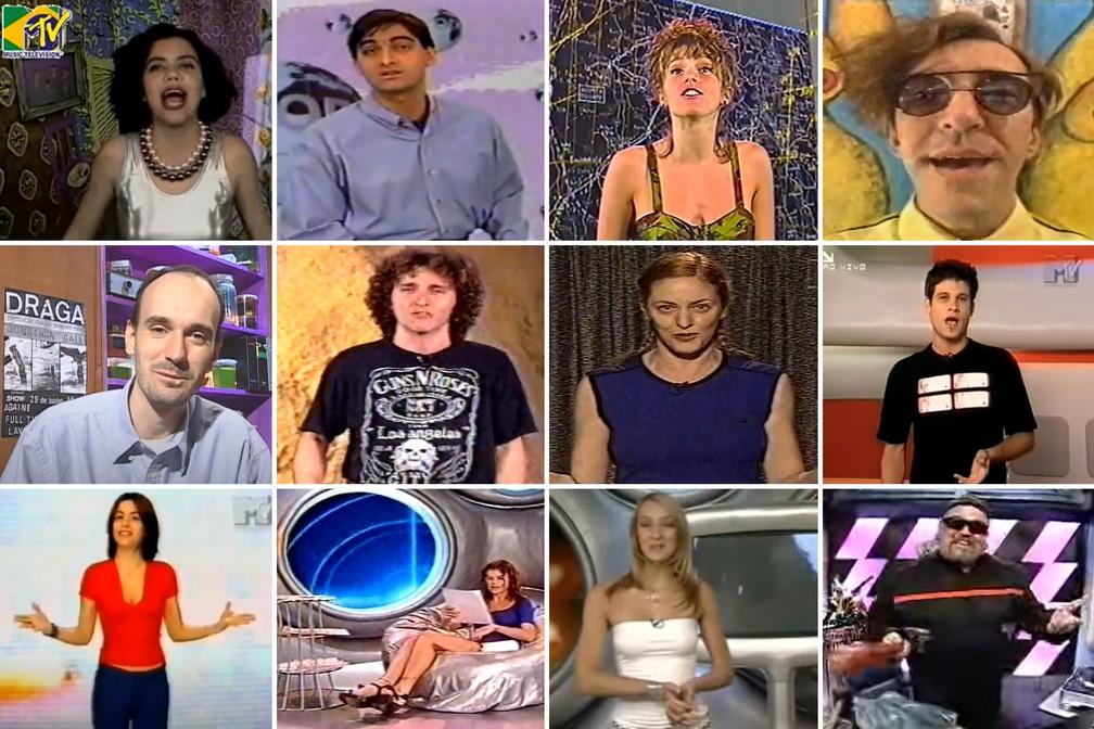 MTV completa 30 anos da estreia no Brasil — Foto: Reprodução/YouTube; Montagem/Celso Tavares G1