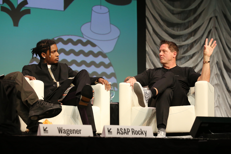 """ASAP Rocky falou na palestra com o tema """"Usando o design de maneira 'diferente' para fazer a diferença em 2019"""" (Foto: Getty Images)"""