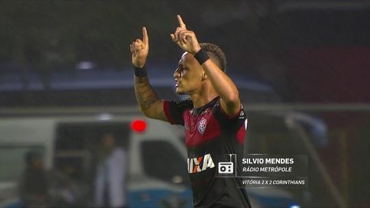 Redação AM: gol de Neilton para o Vitória na voz de Sílvio Mendes, da Rádio Metrópole