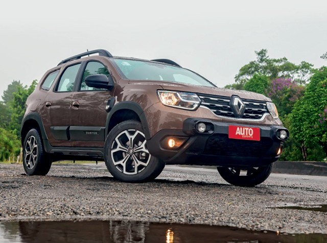Comparativo: O novo Renault Duster (foto) encara seu rival histórico Ford Ecosport, além dos três modelos mais vendidos: Renegade, Creta e Kicks (Foto: Leo Sposito)