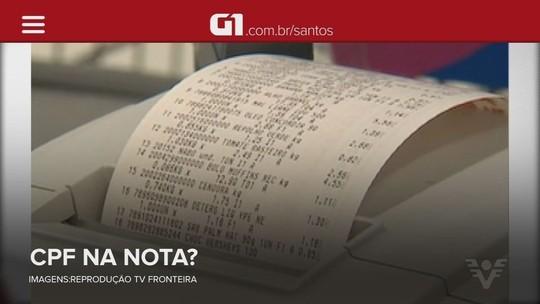 Morador de Guarujá ganha R$ 1 mi no sorteio da Nota Fiscal Paulista