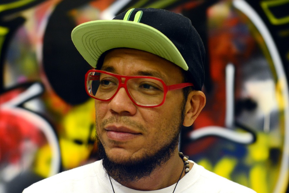 Michel Yakini ministra palestra na Casa do Hip Hop em Piracicaba (Foto: Divulgação/Sesc)