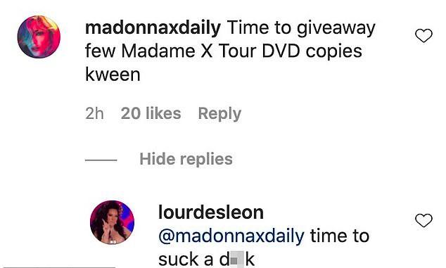 Filha da cantora Madonna, a modelo Lourdes Maria respondeu com ofensas e palavrões os comentários de seus seguidores no Instagram (Foto: Instagram)