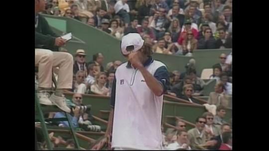 Semifinal de Fernando Meligeni em Roland Garros 1999