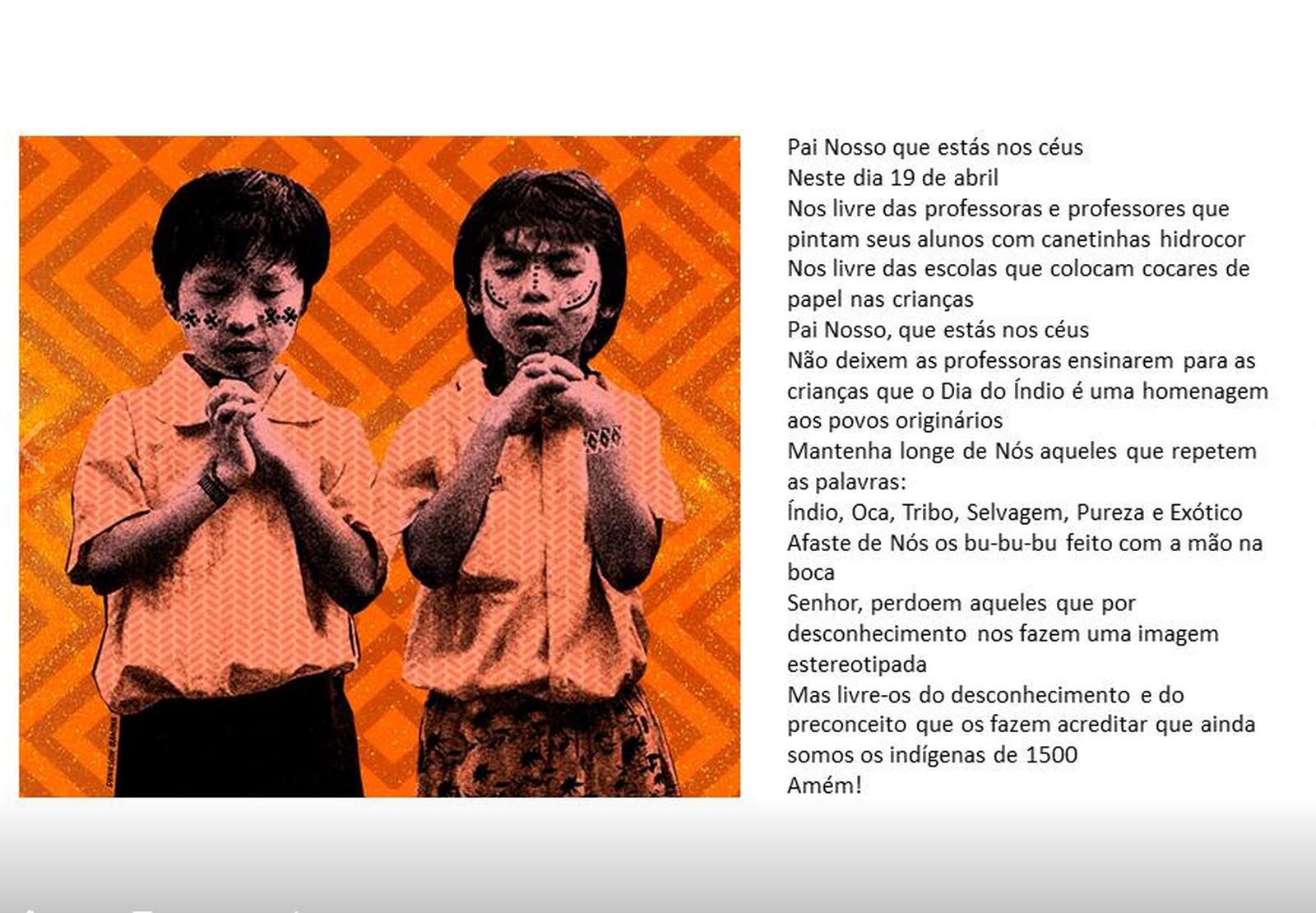Indígenas lançam campanha contra estereótipos para o Dia do Índio: 'Não precisamos de outras pessoas para nos definirem'