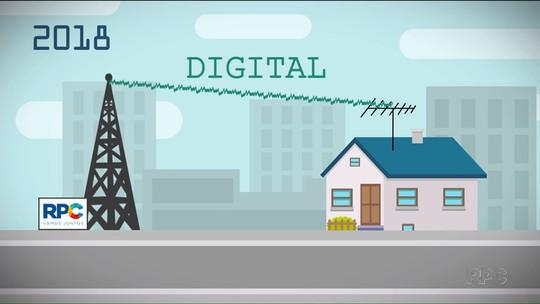 Marco da TV paranaense: sinal analógico é desligado em 27 cidades do estado