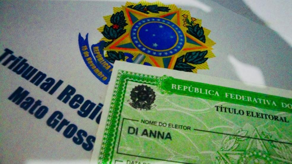 Para Di Anna, ter o nome social no título de eleitor é uma grande conquista. — Foto: Arquivo pessoal