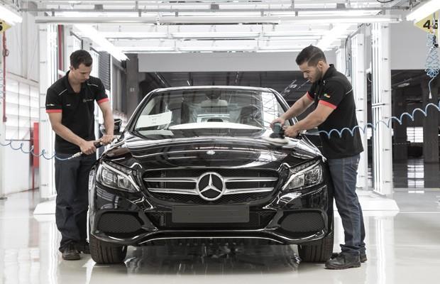 Mercedes inaugura fábrica em Iracemapolis no interior de São Paulo (Foto: Divulgação)