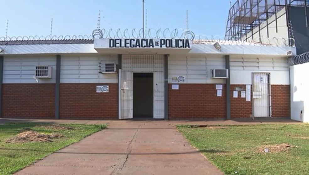 Delegacia de Ibiporã — Foto: Reprodução/RPC